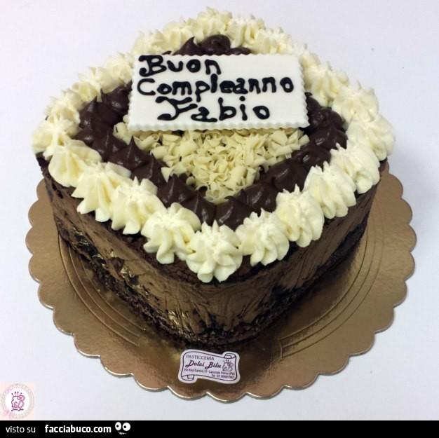 Torta Buon Compleanno Fabio Facciabucocom