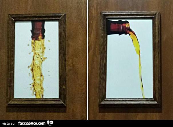 Insegna di toilette esilarante che differenzia il bagno delle ...